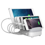 Orico 40W 5-Port USB Charging Station Stand for Phone / Tablet - White